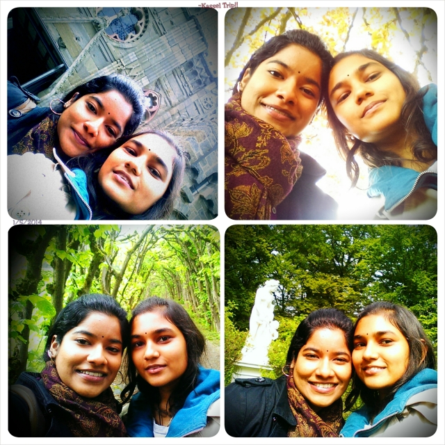 ~Selfies all around Kassel with Rumi-akka