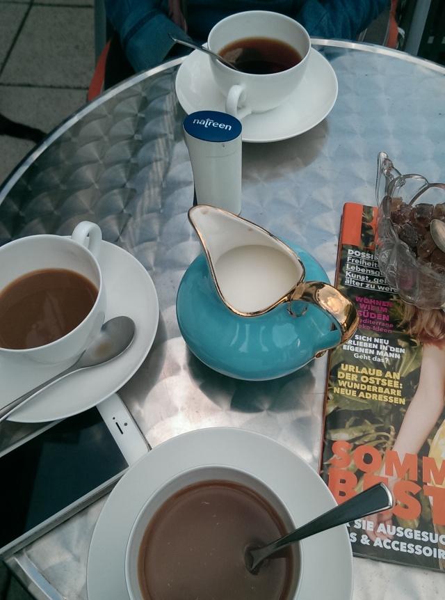 ~Tea at the balcony