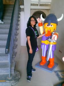 ~Alya at the lego museum