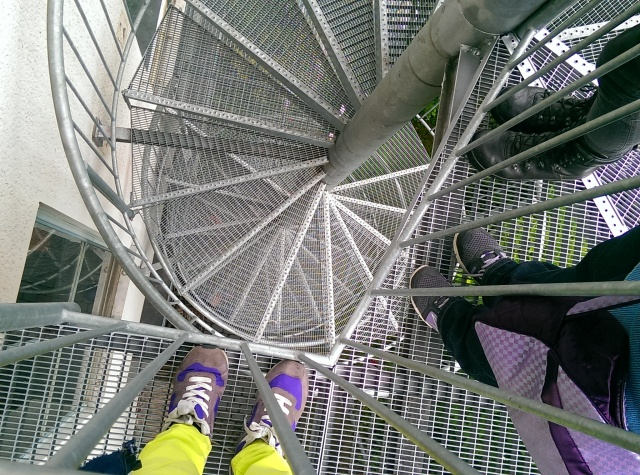 ~Spiral stairs