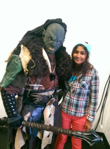 ~Photo with an Orc :D