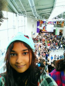 ~The crowd behind me at Gamescom x_x