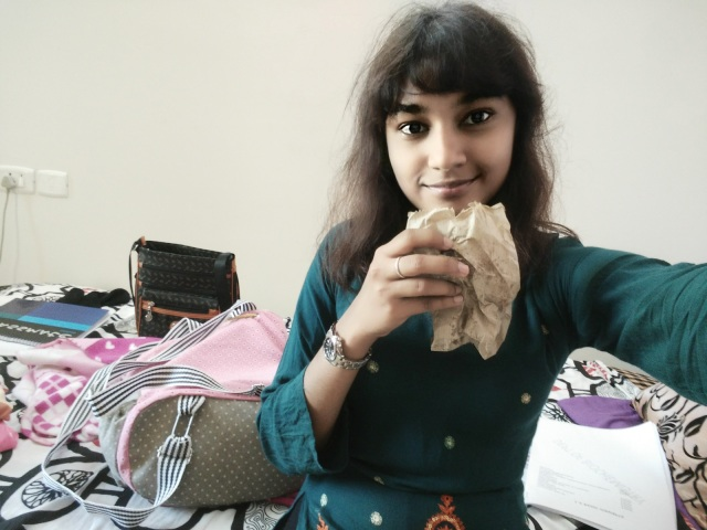 ~Me with chicken puff